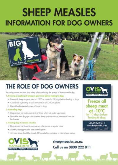 Dog Owners Info Sheet #1