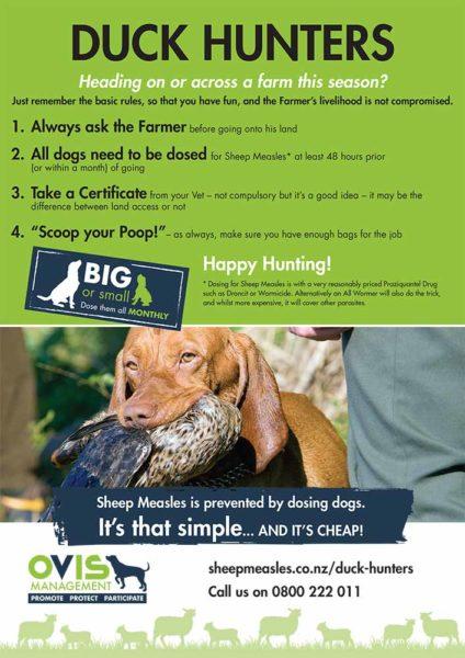 Duck Hunters Info Sheet