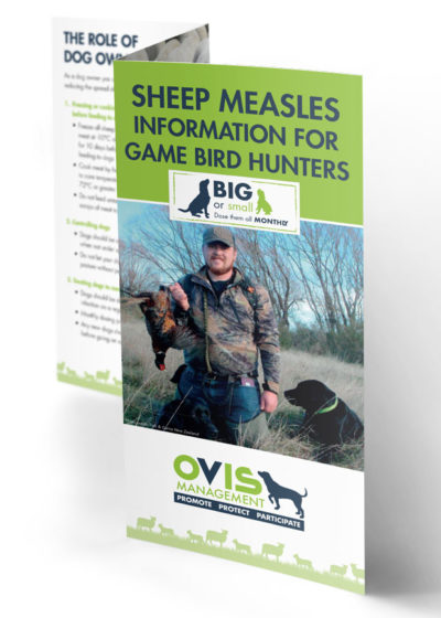 Information for Game Bird Hunters Brochure
