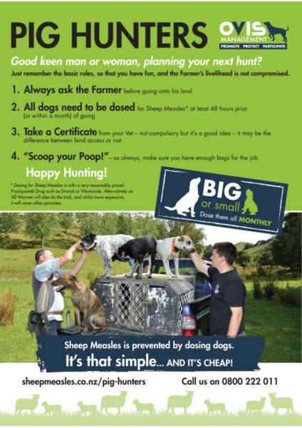 Pig Hunters Info Sheet